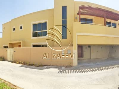5 Bedroom Villa for Sale in Al Raha Gardens, Abu Dhabi - Pool | Garden | Balcony | Garage | 5 Bedroom Villa