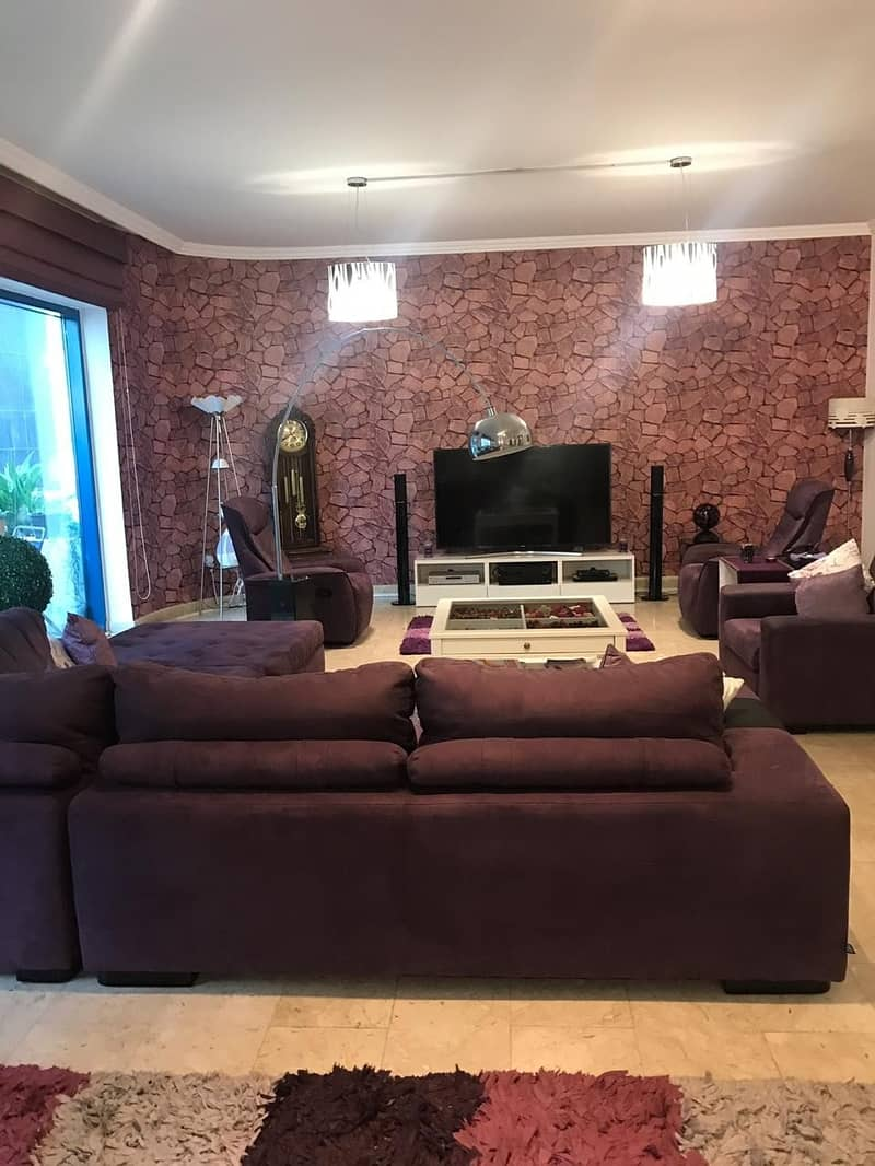 Luxury Location and Convenience With Beautiful Furnished 3 Bedrooms  With Maid Room and Store room