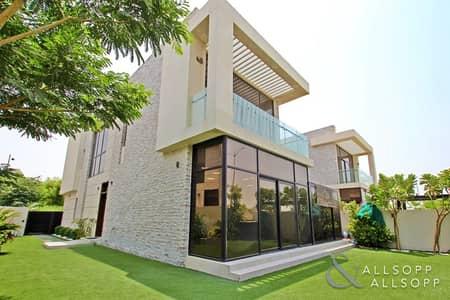 فیلا 5 غرفة نوم للايجار في داماك هيلز (أكويا من داماك)، دبي - Upgraded TH-D | Vacant Now | 5 Bedroom