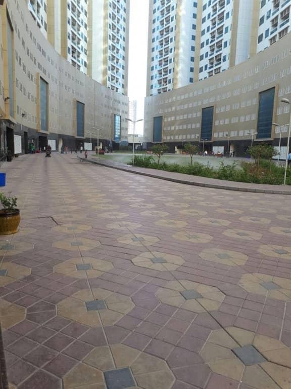 للايجار شقة غرفتين وصالة فى عجمان ابراج لؤلؤة عجمان