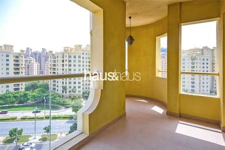 فلیٹ 2 غرفة نوم للايجار في نخلة جميرا، دبي - Available August | Furnished | Multiple Cheques
