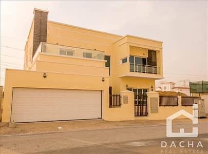 فیلا 5 غرفة نوم للايجار في مثلث قرية الجميرا (JVT)، دبي - CUSTOM BUILD / New 5Br + M / Private Pool