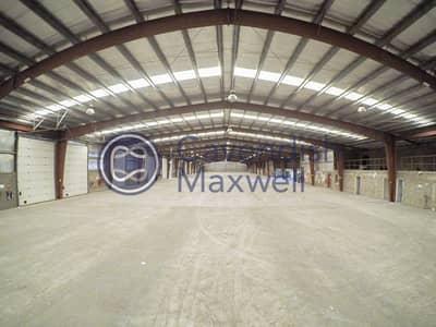 Warehouse for Rent in Dubai Investment Park (DIP), Dubai - Column-less Warehouse I 16 Loading Doors I 200 KW