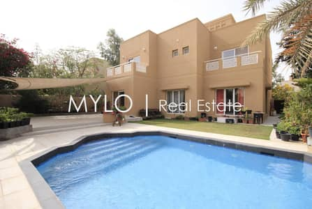 5 Bedroom Villa for Sale in The Meadows, Dubai - 5 Beds + Maids I Upgraded I Private Pool