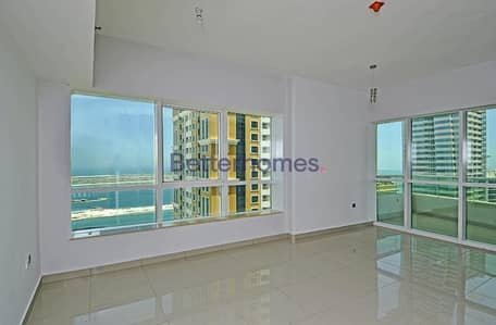 3 Bedroom Apartment for Rent in Dubai Marina, Dubai - Sea View | High Floor | Vacant | Three Bedroom