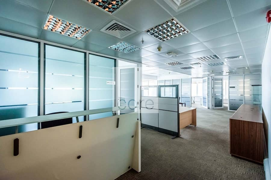 Mid Floor | Fitted and Partitioned Office