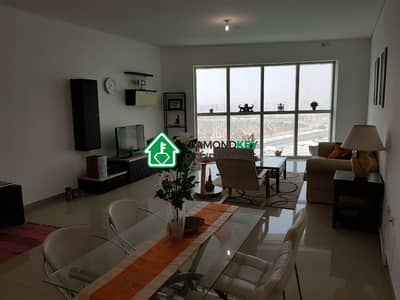 2 Bedroom Apartment for Rent in Al Reem Island, Abu Dhabi - Beautifully furnished Two Beds with full sea view