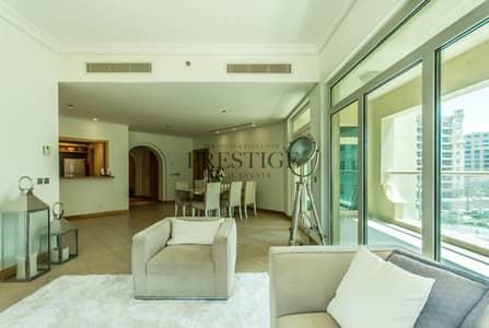 3 Bedroom Apartment for Sale in Palm Jumeirah, Dubai - Msalli Shoreline| Sea View | 3 Bedrooms