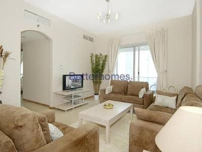فلیٹ 2 غرفة نوم للايجار في دبي مارينا، دبي - Mid Floor | Furnished | Balcony |