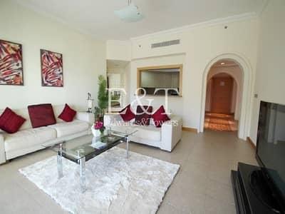 شقة 2 غرفة نوم للايجار في نخلة جميرا، دبي - Beautifully furnished 2BR |Partial Sea views | PJ