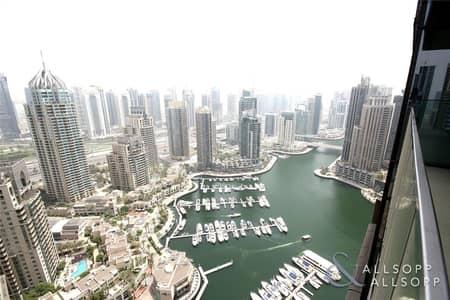 شقة 2 غرفة نوم للايجار في دبي مارينا، دبي - Two Bedroom   Full Marina View   Brand New