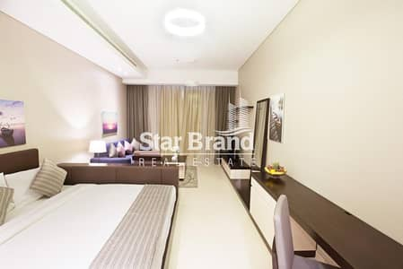 Studio for Rent in Corniche Area, Abu Dhabi - FULLY FURNISHED STUDIO APARTMENT IN CORNICHE AREA FOR RENT