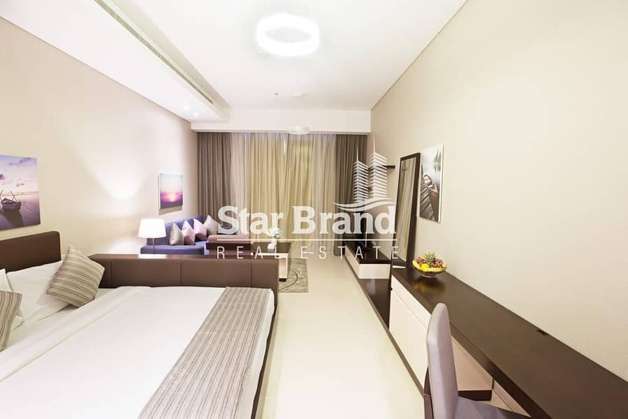 FULLY FURNISHED STUDIO APARTMENT IN CORNICHE AREA FOR RENT