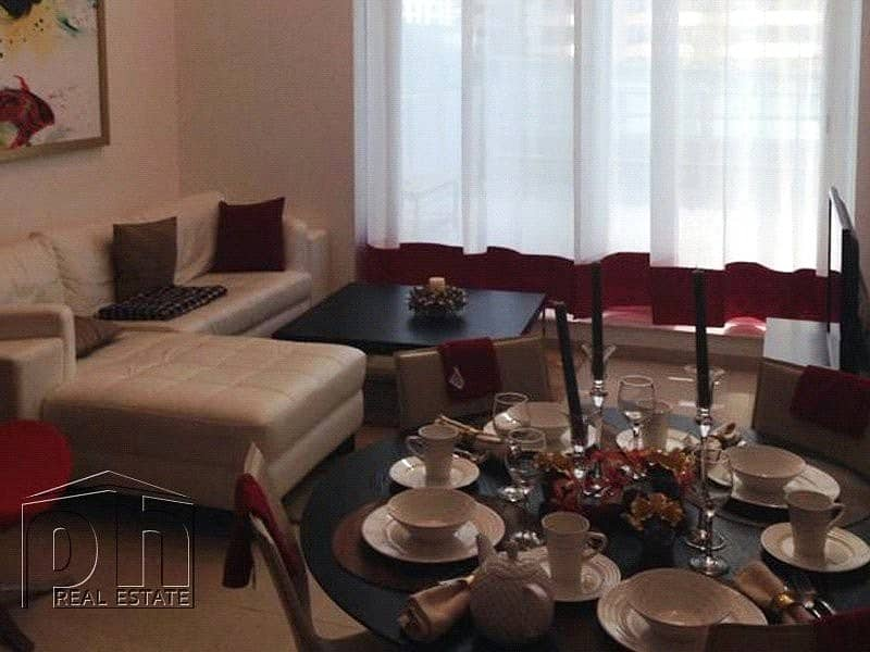 Nicely furnished 1BR Duplex Large terrace