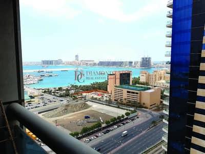 شقة 2 غرفة نوم للايجار في دبي مارينا، دبي - Partial sea view