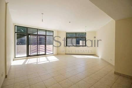 3 Bedroom Apartment for Rent in The Views, Dubai - Bright Unit For 3 Bedrooms In Links East With Big Courtyard And Garden View