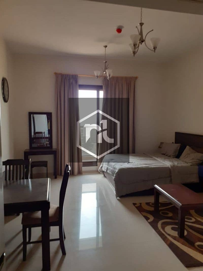 23 EXTRA LARGE STUDIO | FULLY FURNISHED | FULL GOLF COURSE AND POOL VIEW  | BALCONY AND PARKING | ELITE 10 | SPORTS CITY