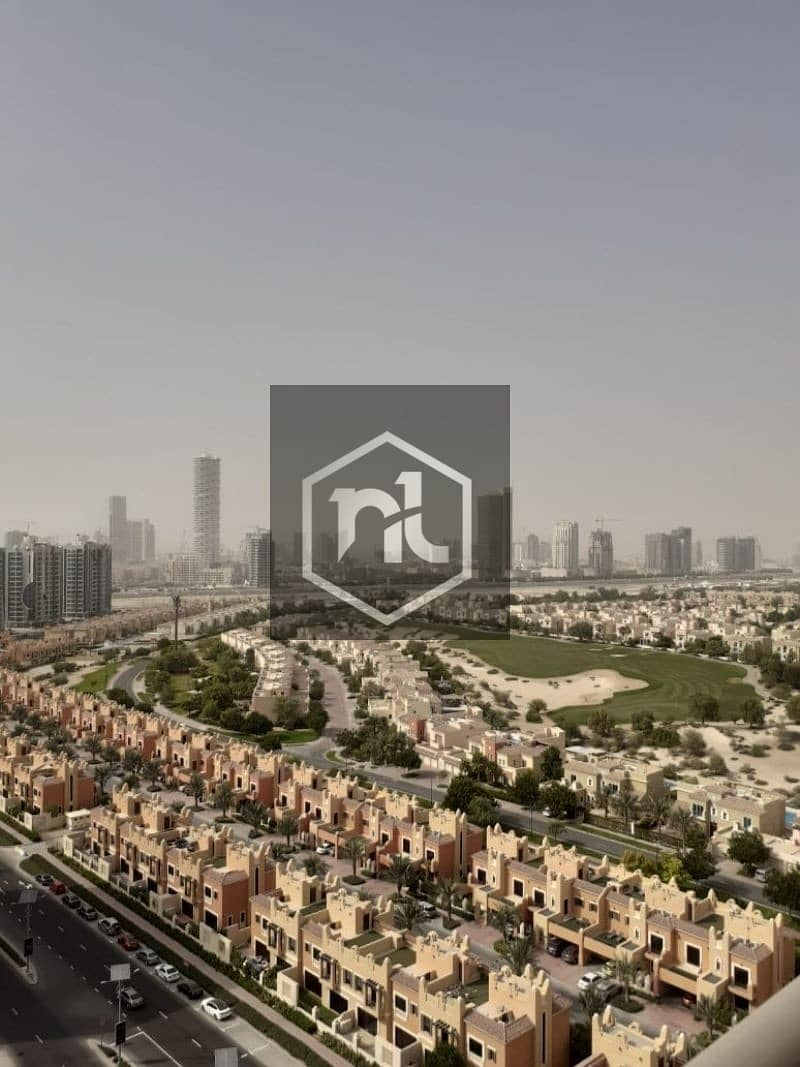 FULLY FURNISHED | FULL GOLF COURSE AND POOL VIEW | LARGE STUDIO | BALCONY AND PARKING | ELITE 10 | SPORTS CITY