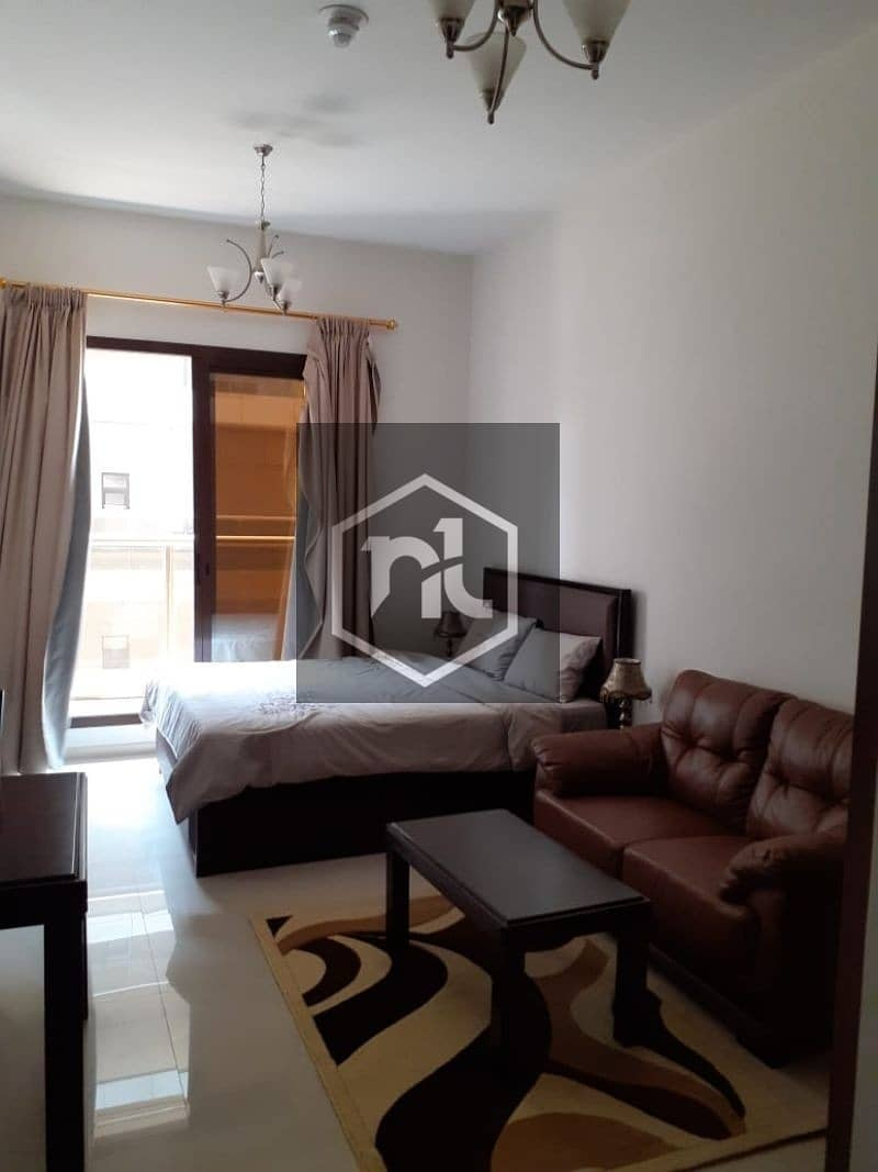 FULLY FURNISHED | STUDIO | BALCONY AND PARKING | GOLF COURSE VIEW | ELITE 10 | SPORTS CITY