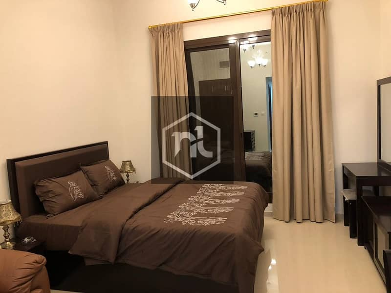 14 GOLF COURSE VIEW | FULLY FURNISHED | STUDIO | BALCONY AND PARKING | ELITE 10 | SPORTS CITY