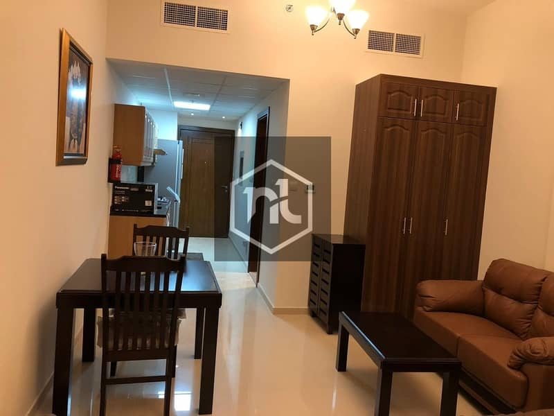2 FULLY FURNISHED | STUDIO | BALCONY AND PARKING | ELITE 10 | SPORTS CITY