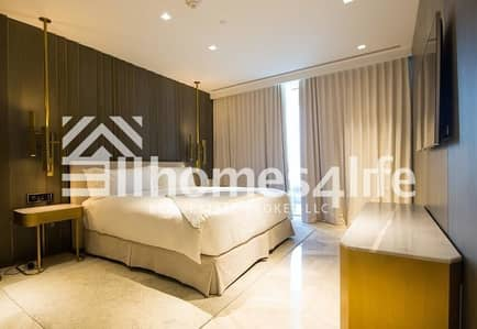 2 Bedroom Apartment for Rent in Palm Jumeirah, Dubai - 2BR + Maids I High Floor I Marina and Sea View