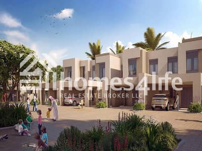 4 Bedroom Townhouse for Sale in Town Square, Dubai - Handover Soon Townhouse with Maids Room in Safi