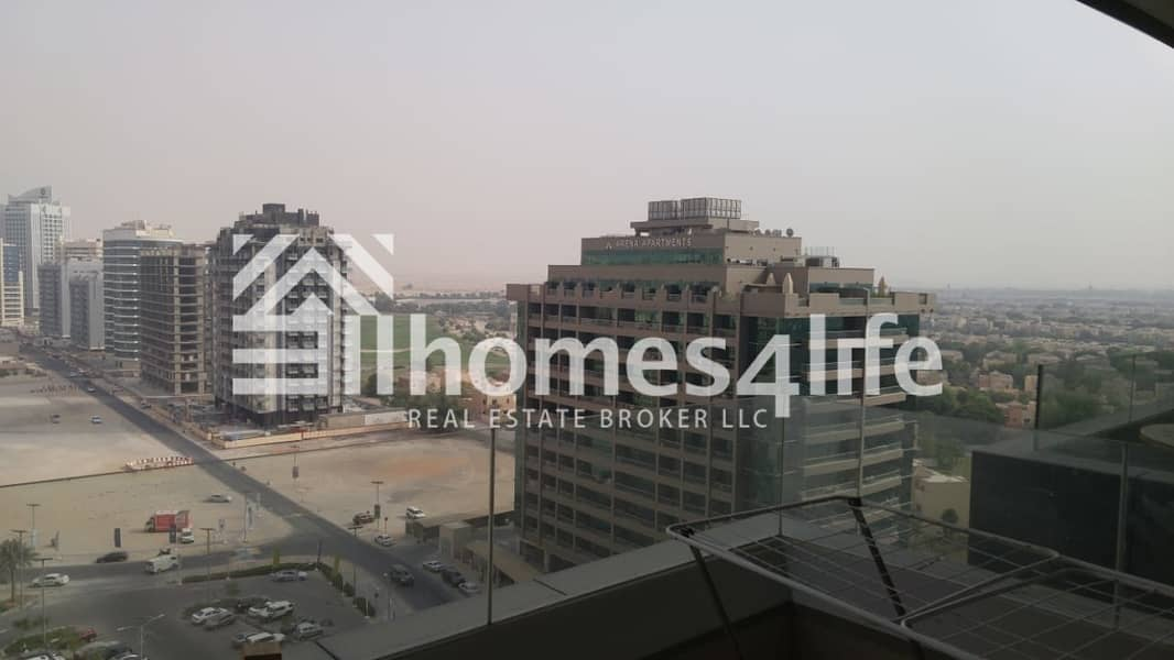 Furnished Studio High Floor with Balcony