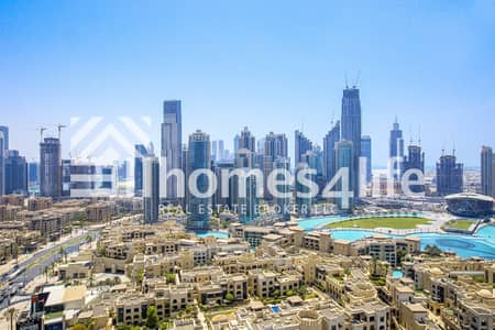 2 Bedroom Apartment for Rent in Downtown Dubai, Dubai - Cheapest in Address | Full Burj and Fountain View