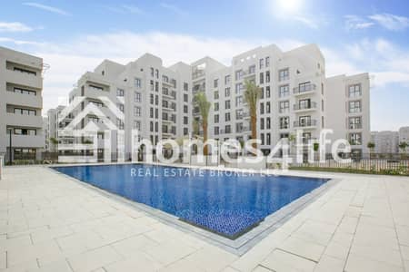 3 Bedroom Flat for Rent in Town Square, Dubai - 3 Bed with Pool View|Island Kitchen|Call to View