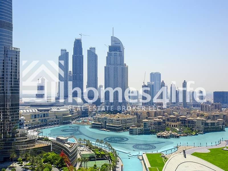 High Floor   Burj Khalifa and Fountain View