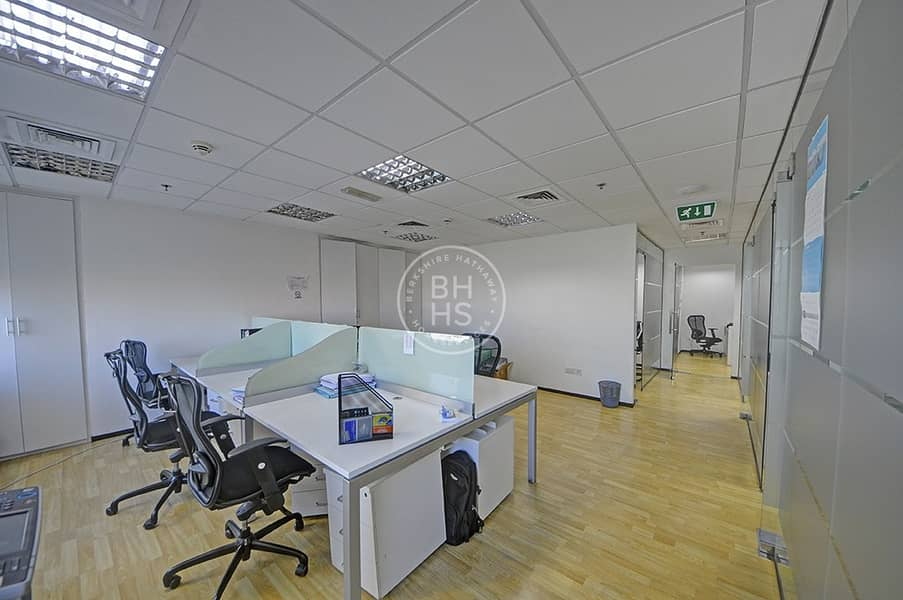 1 Great Investment  For spacious Fitted Office JLT