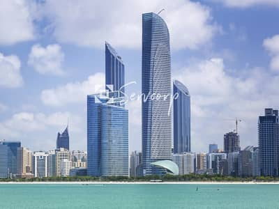 Office for Rent in Corniche Area, Abu Dhabi - Limited Time Offer on a Fully Furnished Office in World Trade Center