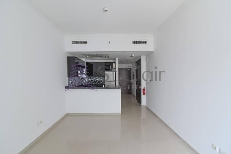 Spacious Studio in DEC | Low Floor | Un/Furnished