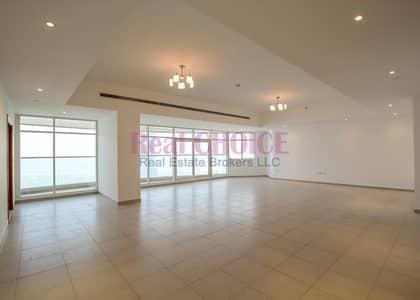 فلیٹ 3 غرفة نوم للايجار في شارع الشيخ زايد، دبي - Amazing View Spacious 3BR Plus Maids|in 4 Cheques