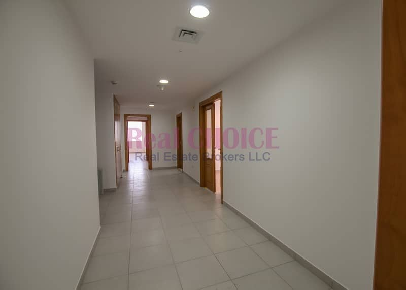 15 Amazing View Spacious 3BR Plus Maids|in 4 Cheques