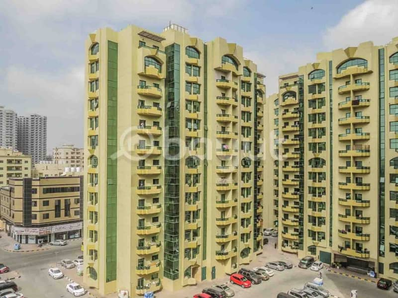 2 Bedroom Hall Available For Sale Al Rashidiya Towers 1566 SqFt 330000