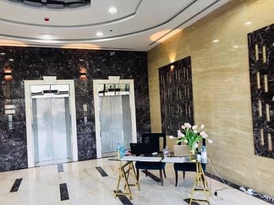 فلیٹ 1 غرفة نوم للايجار في الراشدية، عجمان - ايجار في برج الواحة تشطيبات ممتازة متوفر موقف سيارات وصالة رياضة ومسبح مجانا