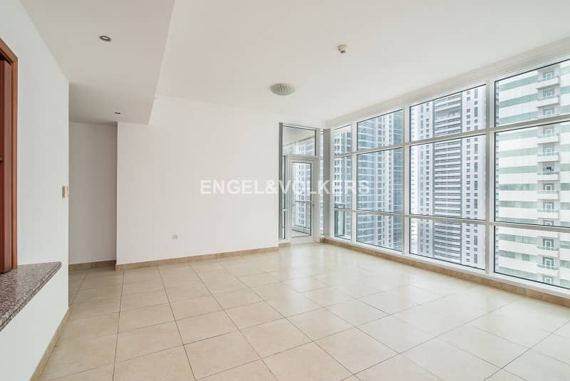 Vacant|Unfurnished|10 Series| With  Balcony