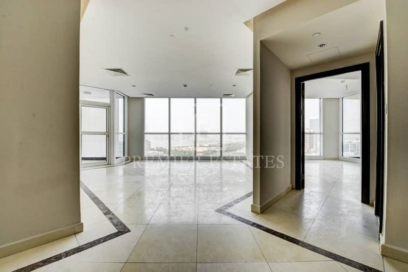 Chiller Free| 3 Bed Sea View Apartment|23 Marina