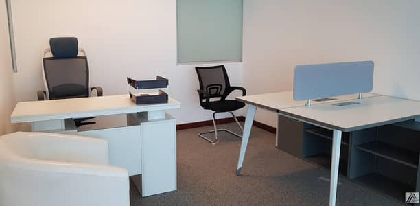 Office for Rent in Sheikh Zayed Road, Dubai - Fully Furnished -Luxurious Office-Dewa Internet Free
