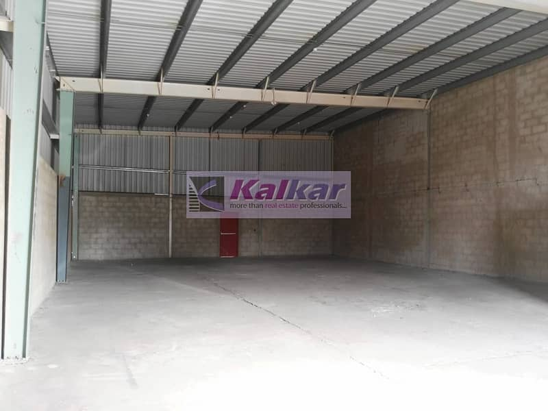 Garhoud - Commercial warehouse of 2500 Sq Ft close to GGICO metro station @ AED.120