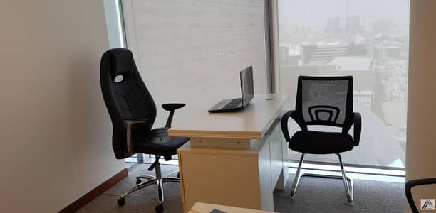 Office for Rent in Al Barsha, Dubai - Fully Furnished -Serviced -Luxurious Office Inside Burjuman Mall and metro