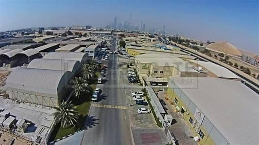 Warehouse for Sale in Al Quoz, Dubai - Vacant / G+M Warehouse / Corner - Fitted Offices