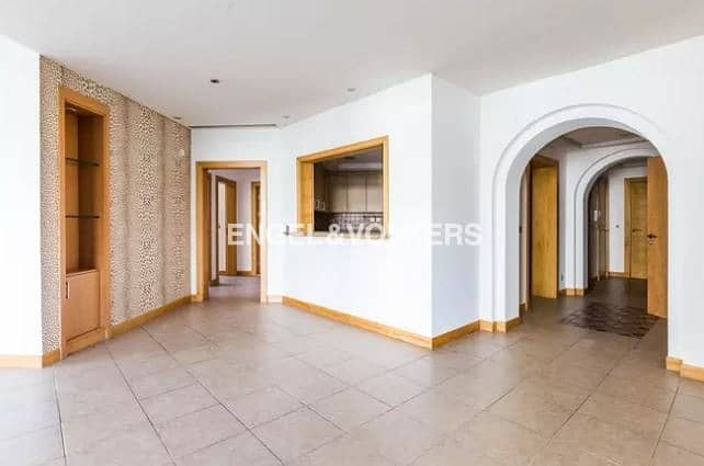 2 Beach Access| Type A|High Floor|Unfurnished