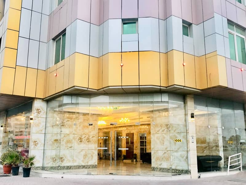 2-BHK Apartment available in AL ANWAR TOWER