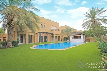 فیلا 5 غرفة نوم للايجار في البحيرات، دبي - 5BR Type L1 Hattan | Full Golf Course View