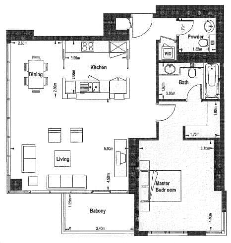 10 Huge One Bedroom | Vacant | Boulevard View