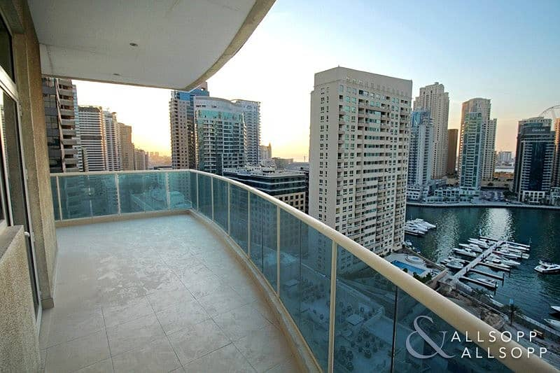 Large 2 Bedroom | Marina Views | Balcony