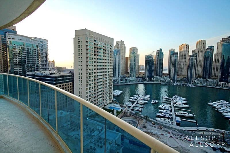 10 Large 2 Bedroom | Marina Views | Balcony